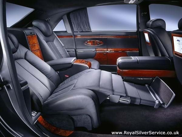 Maybach 62 Chauffeur Hire