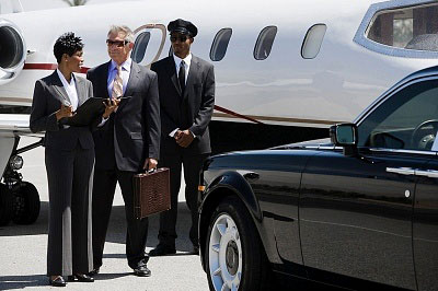 Private Jet Airside Pickup by Royal Silver Service