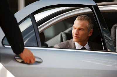 Diplomat experiencing Professional Chauffeur Services
